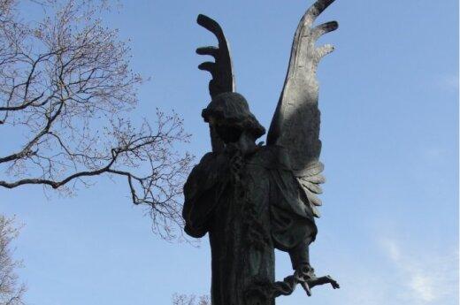 Wileński Anioł, kruszący pęta ziemskie