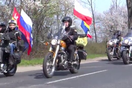 Rosyjscy motocykliści w Polsce