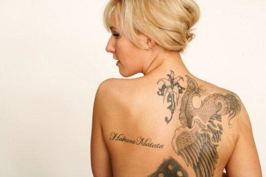 Krem usuwający tatuaże