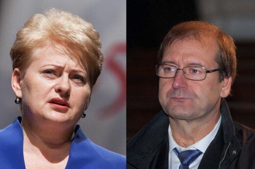 Grybauskaitė: Wniosek Sądu Konstytucyjnego wzmacnia podejrzenia ws. Partii Pracy