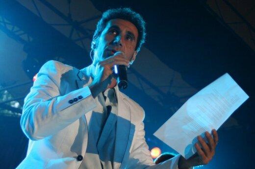 Serj Tankian fot. Rafał Grodek
