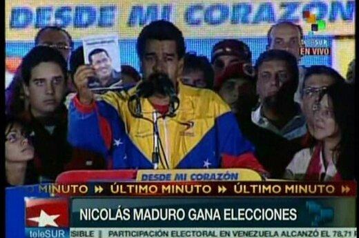 Wenezuela: Prezydenckie wybory wygrał człowiek Chaveza