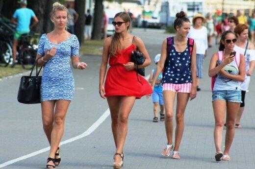 Jūros šventė Klaipėdoje: svilins rekordinis karštis