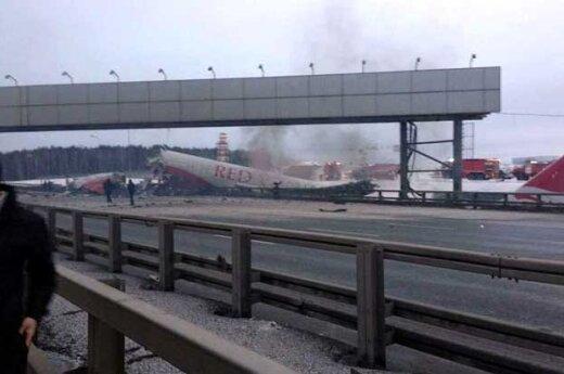 Rosja: Awaria samolotu w Moskwie