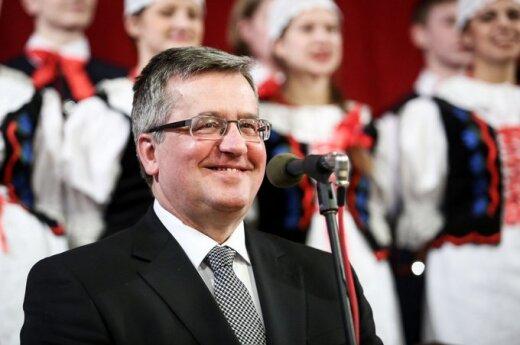 Komorowski: Polacy razem z Łotyszami idą w tę samą stronę