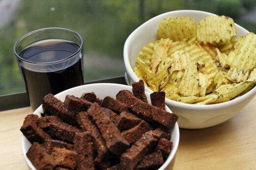 Crash Test litewskich chipsów i reszty niezdrowego jedzenia