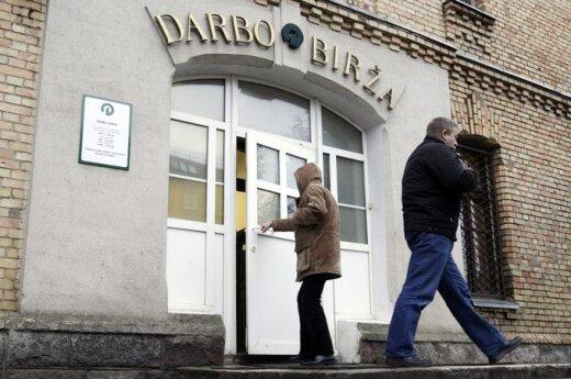 Na Litwie bezrobocie praktycznie się nie zmniejsza