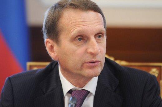 Siergiej Naryszkin: Litwini - to pracowity i mądry naród, ale czasami myli się przy wyborze swoich polityków