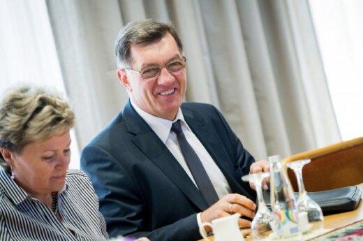 Algirdas Butkevičius: Stosunki z Polską napawają optymizmem