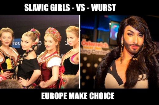 Slavic girls vs Wurst