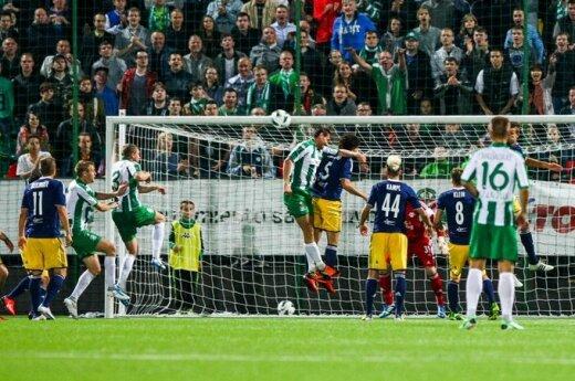 Żalgiris - Salzburg - 0:2. Nadzieja w losowaniu