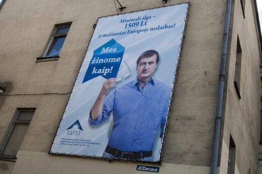Rosyjski politolog: Uspaskich - nasz człowiek na Litwie