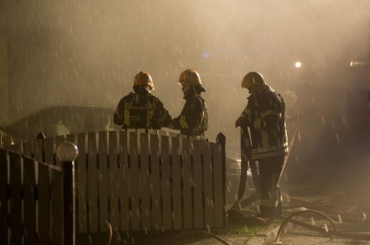 Polski sklep w płomieniach - policja nie wyklucza celowego podpalenia