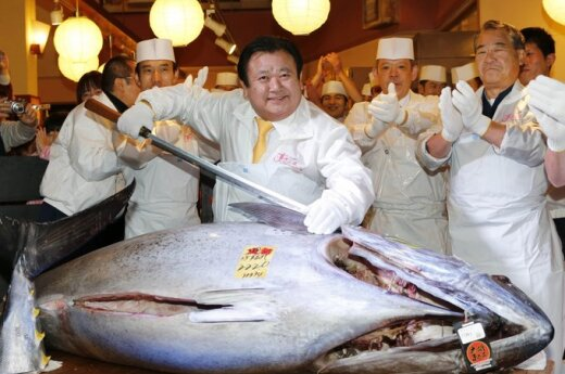 Japonia: Restauracja kupiła tuńczyka za 1,8 mln dolarów