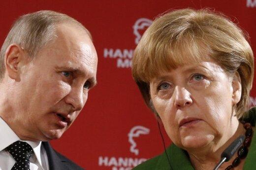 Putin i Merkel omówili syryjski kryzys