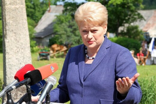 Grybauskaitė chce pomóc młodym osobom w poszukiwaniu pracy
