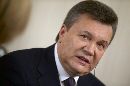 W Szwajcarii pięć spraw karnych przeciwko Janukowycza