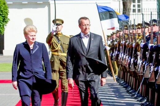 Prezydent Estonii: Litwa i Łotwa muszą martwić się i o euro, i o własną walutę