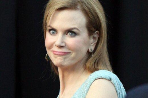 Nicole Kidman siusia bez wstydu