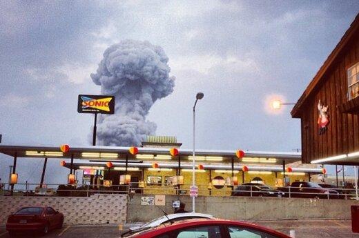 USA: Potężny wybuch w fabryce w Teksasie