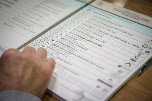 Pirmojo rinkimų turo balsai vis dar nesuskaičiuoti, klaidos - Vilkaviškio apygardoje
