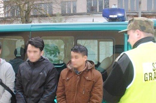 Litwin przemycał Wietnamczyków do Polski. zdj. Podlaski OSG