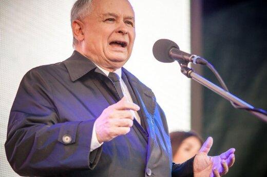 Kaczyński popiera Grybauskaitė