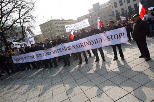 Oświadczenie Forum Rodziców Szkół Polskich na Litwie: Zmusicie nas do drastycznych działań