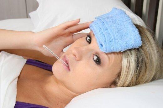 Na grypę najwięcej choruje w Wilnie