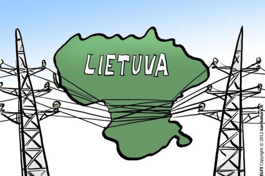 Cena prądu na Litwie spadła najmniej