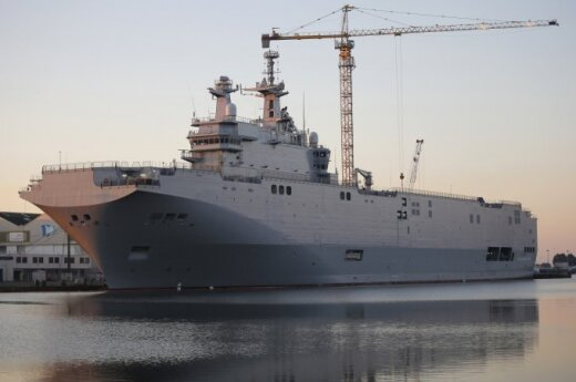 Polska zrezygnuje z francuskiej broni, jeśli Rosja otrzyma Mistrale