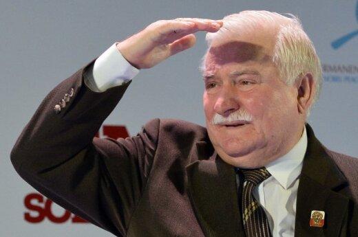 Gej zamiast Lecha Wałęsy