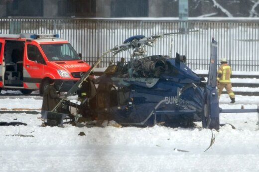 Niemcy: W Berlinie zderzyły się dwa śmigłowce