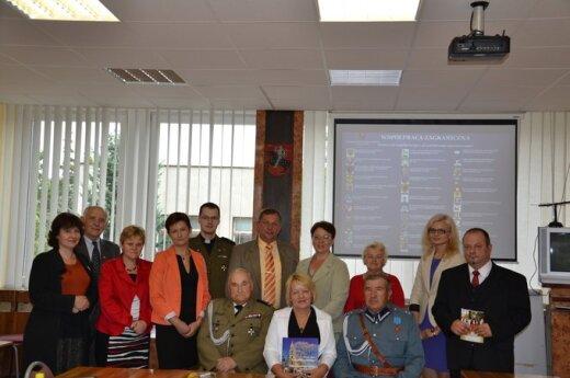 Delegacja z Powiatu Kraśnickiego, fot. samorząd rejonu wileńskiego