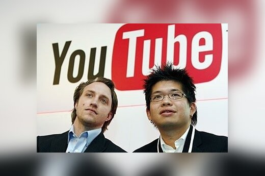 Chadas Hurley (kairėje) ir Steve'as Chenas.