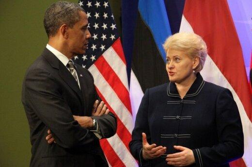 Grybauskaitė z Obamą będzie rozmawiała m.in. o stosunkach z Rosją