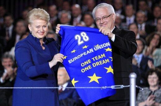 UE: Na dobre i na złe witamy Chorwację w UE