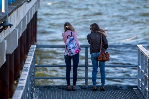 Lietuviai pasiryžo švęsti iš peties: nestabdo net baisios orų prognozės