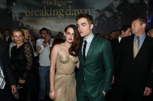Robert Pattinson mieszka u Kristen Stewart
