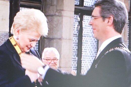 Grybauskaitė: Odpowiedzialność dotyczy przywódców i zwykłych Europejczyków