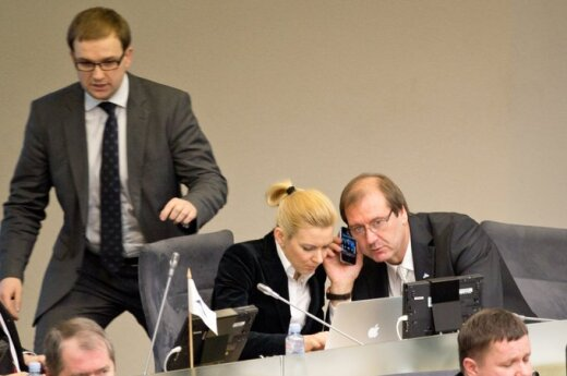 Vytautas Gapšys, Vitalija Vonžutaitė, Viktoras Uspaskichas