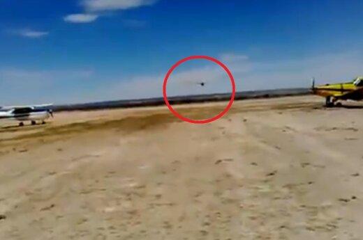Przeszkodził w lądowaniu