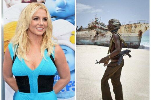 Piosenki Britney Spears odstraszają somalijskich piratów