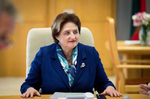 Loreta Graužinienė zaprosiła Radosława Sikorskiego na Litwę