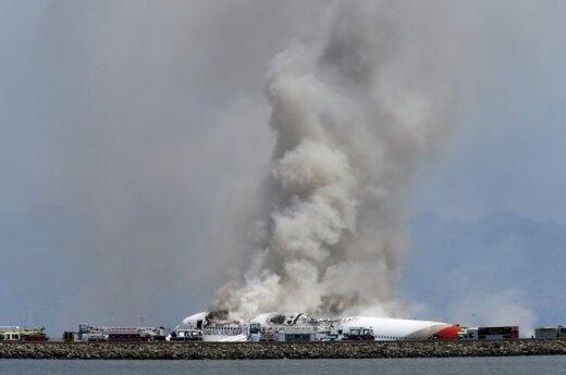 USA: Katastrofa na lotnisku w San Francisco