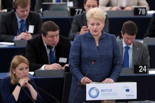 Grybauskaitė: Mniejszości na Litwie nie są dyskryminowane