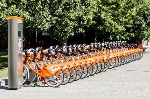 PL DELFI wykonało test drive publicznych rowerów w Wilnie