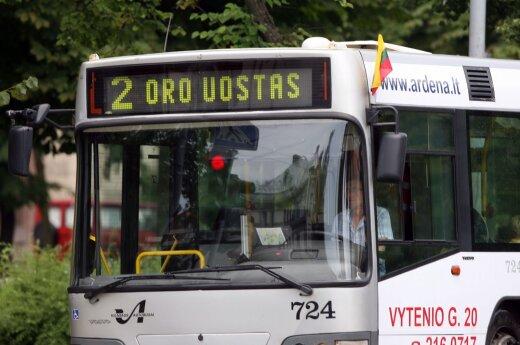 """Od jutra w Wilnie autobusy z napisem """"Airport"""""""