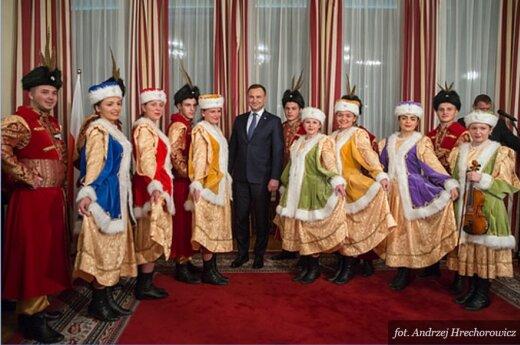 Spotkanie prezydenta z Polonią w Ambasadzie RP w Rumunii. Foto: prezydent.pl