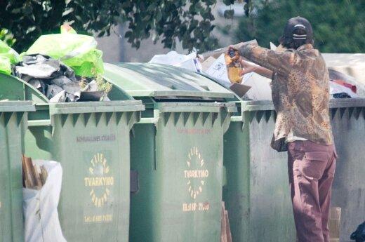 Tragedia w Wilnie. Bezdomny trafił pod prasę śmieciarki